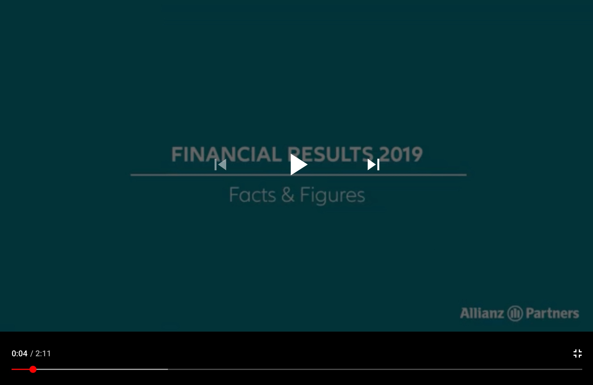 Allianz Partners - Financial results 2019